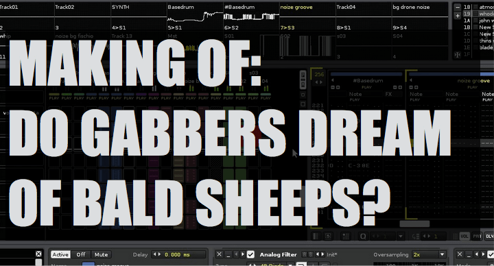 The making of Rotello – Do gabbers dreams of bald sheeps?