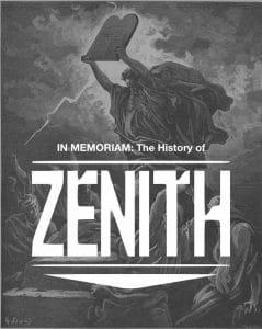 In Memoriam: Federico Franchi – Zenith